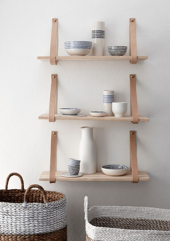 diy-styling-interior-leather-straps-shelves